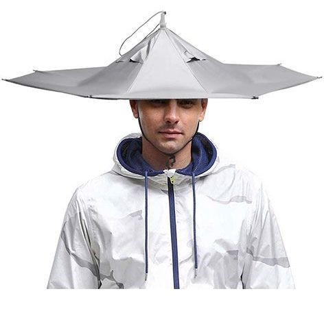 AIFUSI Umbrella Hat