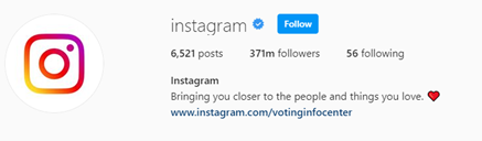 18 Most-Followed Accounts of Instagram