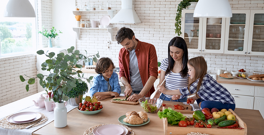 Cook up Good Meals for Your Family