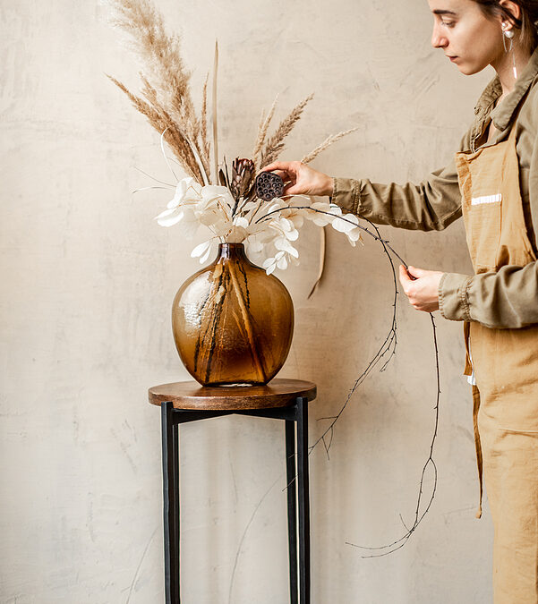 Decorate your interior with dried flowers