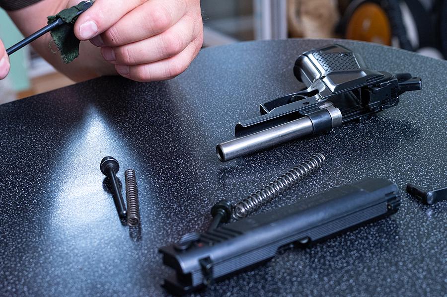 Gun Maintenance Pads – To Speed Up the Gun Cleaning Task