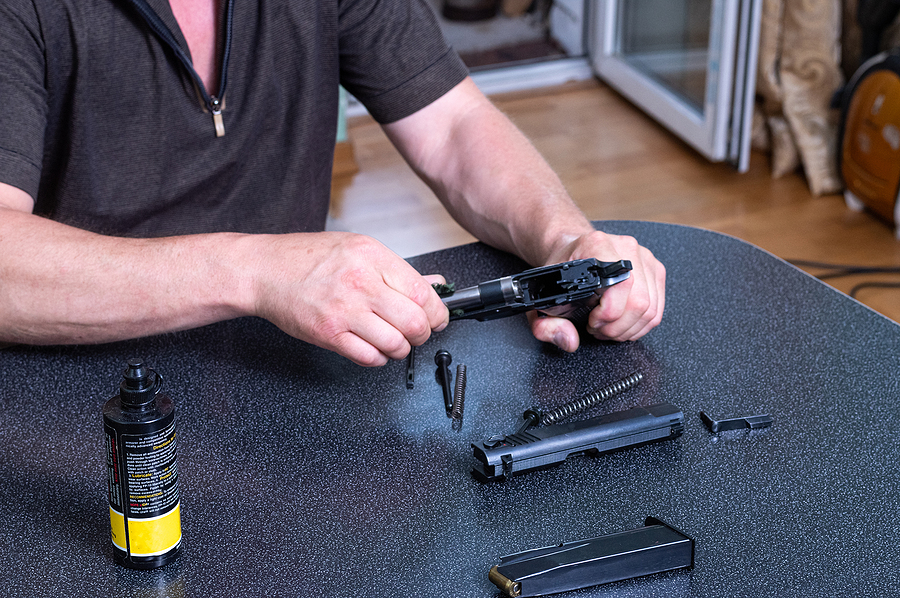 Why gun cleaning mats are needed?