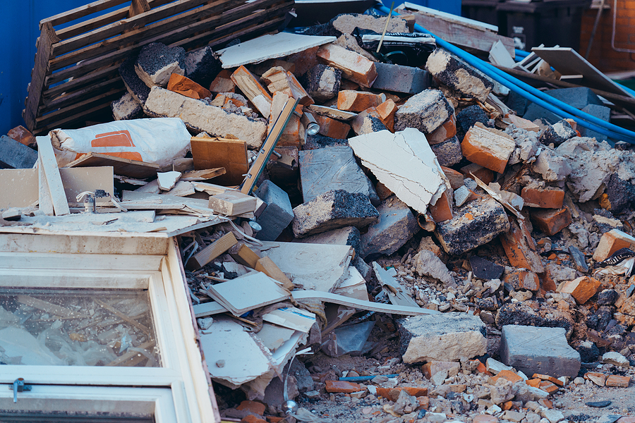 How to Handle and Get Rid of Large Amounts of Debris and Waste on Your Property