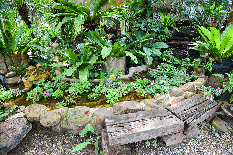 Small Space For a Garden? A Tiny Pond Will Do a Job!