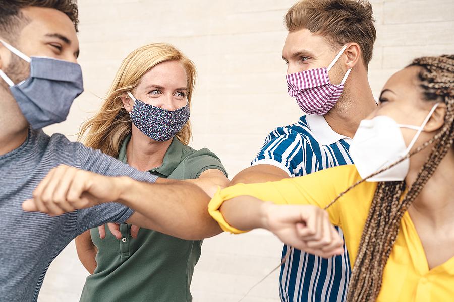 4 Ways To Make Masks Fashionable