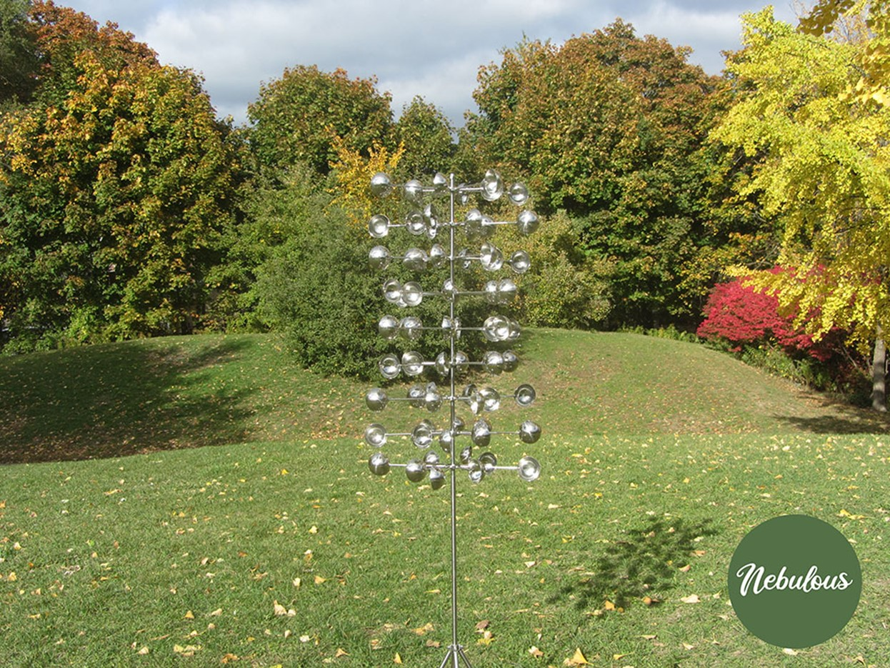 A Dynamic View - Kinetic Wind Sculptures