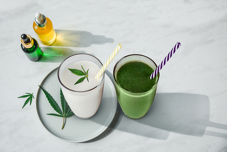 CBD Cocktails to Celebrate the End of Summer