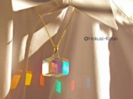 The Spectrum Cube Necklace Is Totally Going On Your Wishlist
