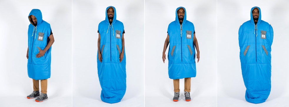 Every Couch Potato Will Want This Wearable Sleeping Bag