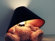 The Teddy Bear Lamp Is Kinda Cute And Kinda Morbid