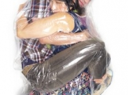 Flesh Love Is A Photoseries Of Couples Vacuum-Sealed Together
