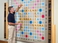 Quintuple Word Score: World's Largest Scrabble Game