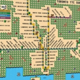 Super Mario 3 Toronto TTC Subway Map