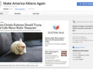 A New Chrome Extension Replaces Trump With Kittens