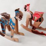 These BDSM Naked Lady Rocking Horses Are NSFL