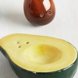 Avocado Salt & Pepper Shaker