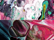 Soap, Oil, And Paint Up Close Looks Like Outer Space!