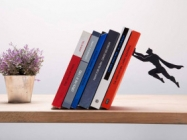 Your Favorite Literature Is Safe With Superhero Bookends Around