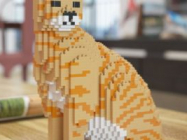 These Cat LEGO Sculptures Are Pretty Much Purrfect!