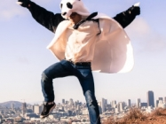 Panda Coat: It's Not a Costume, But a Lifestyle