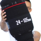 Camera Lens Pillow