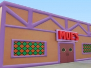 Drink Like A Springfield Local In The Inflatable Moe's Tavern