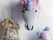Now You Can Knit Your Own Unicorn Trophy With This Kit