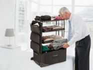 The ShelfPack Is A Suitcase With Retractable Shelves