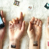 Your Instagram Photos As Temporary Tatts
