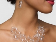 A Necklace That Looks Like It's Made Out Of Bubbles!