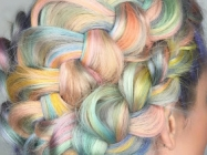 Unicorn Rainbow Braids: The Prettiest Hair In All The Land