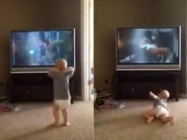 Watch This Baby Do His Best Rocky II Impression