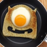 One Eyed Egg Monster Toast Cutter