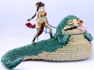 A LEGO Princess Leia Choking Out Jabba & More Incredible Links
