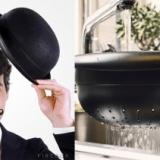 Bowler Hat Colander