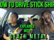 This Metal Song Will Teach You How To Drive Stick Shift