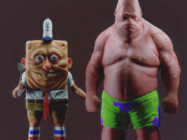 Cartoon Characters In Real Life Are Actually Pretty Terrifying