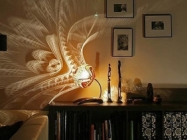 These Patterned Lamps Leave Beautiful Shadows On The Walls