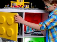 Qlibs Make Your IKEA Shelves Look Like LEGO Bricks