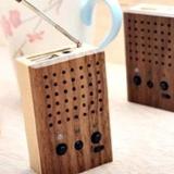 Motz Wooden Power Speaker