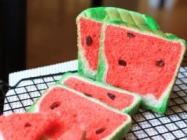 Watermelon Bread Looks Like Watermelon In Loaf Form