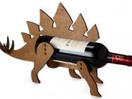 Store Your Prehistoric Wine In The Dinosaur Wine Bottle Holder