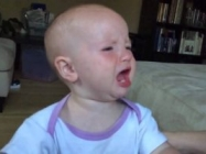 Try Not To Laugh At This Video Of A Baby Crying In Slow Motion