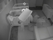 Twin Toddlers Escape From Their Cribs At Night To Party