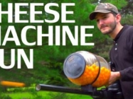 All Of A Sudden Really Want A Cheese Ball Machine Gun...