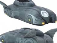 Batmobile Slippers Are For Wearing Around The Batcave On Dark Knights