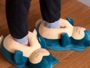 Snorlax Slippers Make Snoring Sounds When You Walk