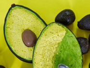 This Avocado Cake Has A Ball Of Chocolate For The Pit
