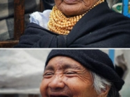 Shots Of People Before & After Being Told They're Beautiful