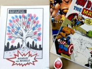 The Comic Book Fingerprint Tree Is For Superhero Lovers